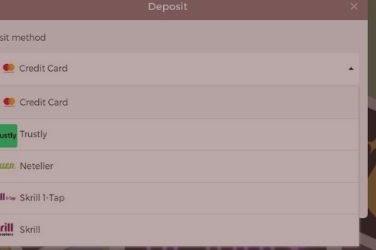 Slothino blog: best deposit options
