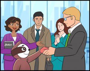 Adventures of Slothino - Slothino business agreement