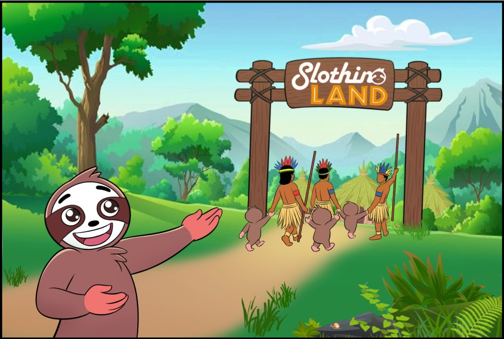 Adventures of Slothino - Slothino land