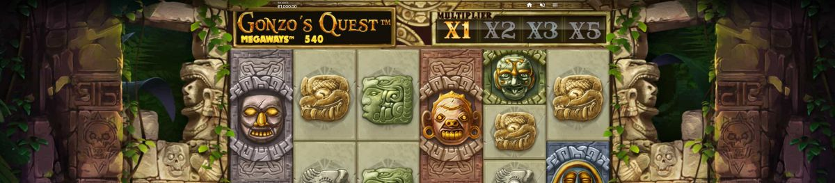 Slothino-Gonzo´s-Quest-Megaways